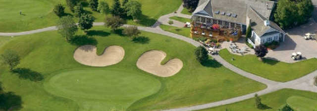 Millcroft GC: Aerial view of the clubhouse