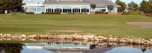 Carlisle GCC: Clubhouse & practice area