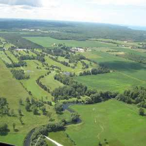 Sauble G & CC: aerial view