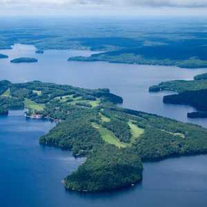 Bigwin Island GC: Aerial