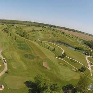 Fox GC: Aerial view