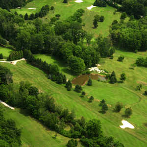 Woodside Greens GC: Aerial