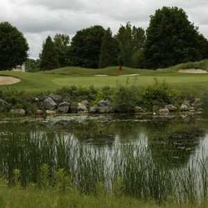 New Course at Hidden Lake: view from the 9th hole