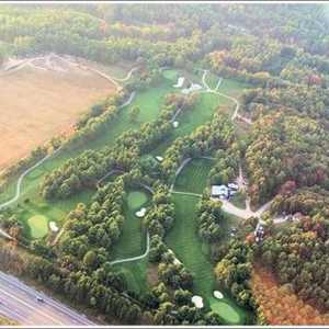 Shelter Valley Pines GC: Aerial view