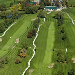 Hornby Glen GC: Aerial view