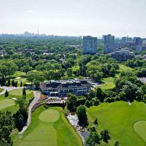 Centennial Park Golf Centre: Aerial view