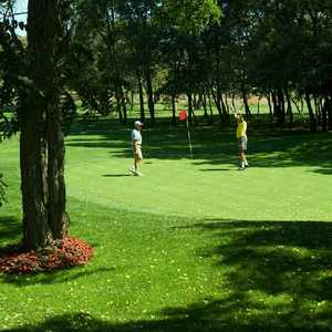 Owl 9 at Whisky Run: Golfers on #9