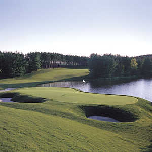 Woodington Lake GC - Legend: #18