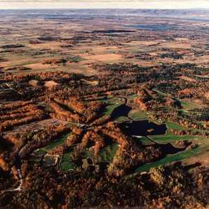 Loch March GCC: Aerial view