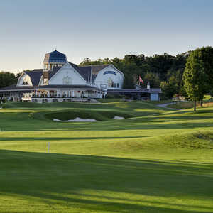 Angus Glen GC - South: #9 & clubhouse