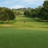 A view of the 10th green from East Course at The Country Club.