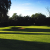 A view of a well protected green at Challenge from Rolling Hills Golf Club.