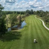 Aerial view from the 9th tee at Perth Golf Course.