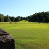 A view from tee at Blue Heron Golf Club.