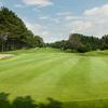 A view of green #11 at Six Foot Bay Resort Golf Club
