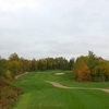 A view of the 4th tee zone and fairway at Dufferin Glen Golf Club