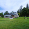 A view of the clubhouse at Lyndebrook Golf Course