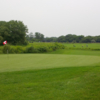 View of a green at Grey Silo Golf Course