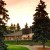 A view of the clubhouse at Dundee Country Club