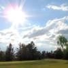 A sunny day view from Simcoe Shores Golf and Country Club