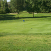 A view of hole #14 at Dentonia Park Golf Course
