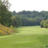 A view from a tee at Don Valley Golf Course