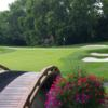 A view over a bridge at Markland Wood Country Club