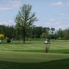 A view of a green at Deerfield Golf Course