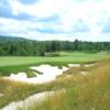 A view of fairway #1 at Georgian Bay Golf Club