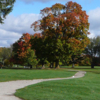 A fall day view from Couchiching Golf and Country Club