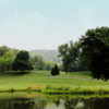 A view over the water from Dundas Valley Golf Club.