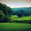 A view of two holes at Dundas Valley Golf Club