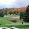 A view of the 9th hole at Huntsville Downs Golf Club