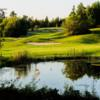 A view of the 15th hole at Kenora Golf and Country Club.