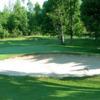 Bunkered greeen at Rideau Glen Golf Club