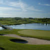 View of the 8th green from the Legacy Course at Woodington Lake Golf Club