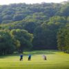 A sunny day view from a fairway at St. Davids Golf Club