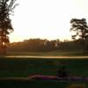 A morning day view of a hole at Lindsay Golf and Country Club