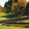 A fall day view from Nottawasaga Inn Golf Course