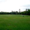 A view of a green at Cedar Links Golf Club