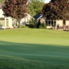 A view of a green at Huron Oaks Golf Course