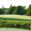 A view over the water of a hole at Barcovan Golf Club