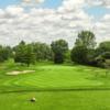 A view from a tee at Elmira Golf Club