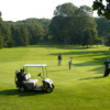 A view of a green at East Park Golf Gardens