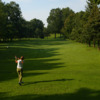 A view from the red tee at East Park Golf Gardens