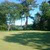 A view of a green at Rocky Crest Golf Club