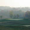 A view of two holes at Vespra Hills Golf Club