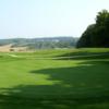 A view of a green at Vespra Hills Golf Club