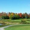 A view of a green at Heron Landing Golf Club