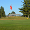 A view of green #1 at Highview Golf Course